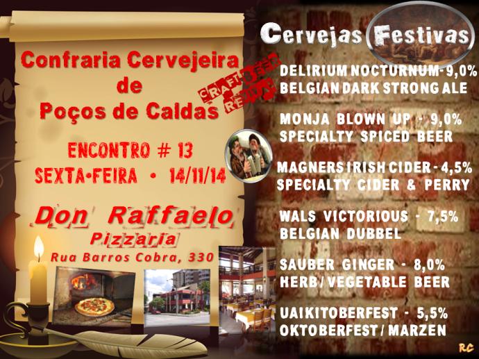 Confraria 13 - Convite