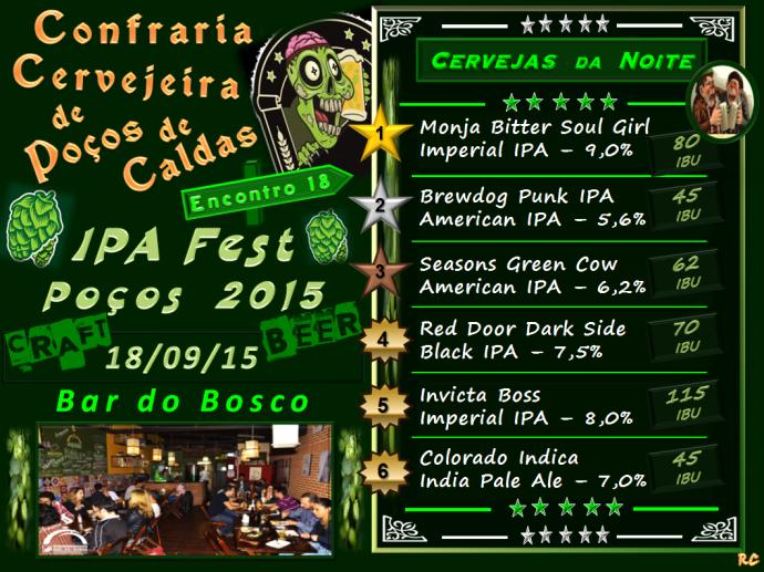 Confraria 18 - IPA Fest Pocos 15 - 180915