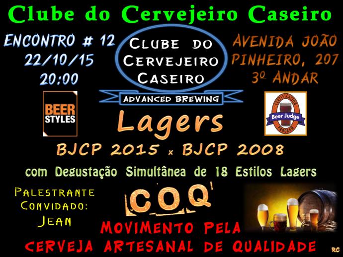 CCCPC - Encontro 12 - Lagers - 221015